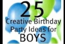 Birthday Party Pooper - Boys / by Carrie Schultz Soto