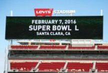 Super Bowl 50 at Levi's Stadium! / Super Bowl 50 (L) will be played on February 7, 2016 at Levi's Stadium in Santa Clara, CA. Stay tuned for Santa Clara updates, exciting photos, & more! / by Visit Santa Clara, CA