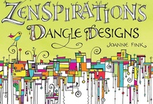 Zenspirations Dangle Designs / Zenspirations Dangle Designs are fun! I've drawn them on everything from greeting cards to t-shirts. I've even 'Dangled' on my walls!  / by Joanne Fink