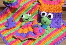 Crochet/Knit ~ baby & kidlet stuff / Check out my other crochet boards. / by Mina Soares