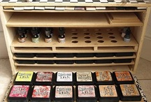 organiseren scrapspullen / by Yvonne van Dijk