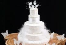Wedding Cakes - All White / by Debra Richter-Silnicki