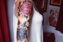 tattoos / by Hanna Hathaway