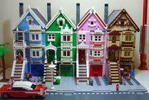 LEGO Huizen / gebouwen / LEGO / by Yvonne van Dijk