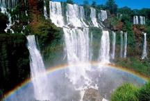 Waterfalls / Water - falling, flowing, rushing, gushing, tinkling, thundering... even freezing... / by Deb Williams