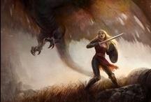 Swordswomen / by Elizabeth Elmore