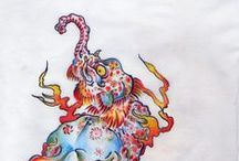 Mythical Beasts / by Elizabeth Elmore