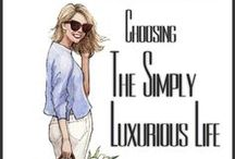 TSLL News / Updates, News and Giveaways on The Simply Luxurious Life blog / by The Simply Luxurious Life