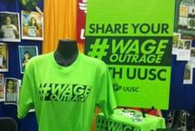 #WageOutrage / by Unitarian Universalist Service Committee