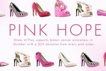 Shoes of Prey x Pink October / Shoes of Prey supports breast cancer awareness throughout October: $25 from every pink order to go to charity.   / by Shoes of Prey