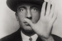 MAN RAY / Man Ray (born Emmanuel Radnitzky, August 27, 1890 – November 18, 1976) was an American modernist artist who spent most of his career in Paris, France. He was a significant contributor to the Dada and Surrealist movements, although his ties to each were informal. He produced major works in a variety of media but considered himself a painter above all. He was best known in the art world for his avant-garde photography, and he was a renowned fashion and portrait photographer. Ray is also noted for  / by ABT t