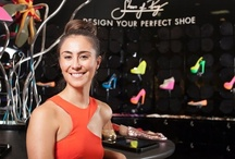 Shoes of Prey Concept Store at David Jones / We've opened our very first stand-alone retail shoe boutique within the Australian department store, David Jones! Visit to design your perfect shoes!  / by Shoes of Prey