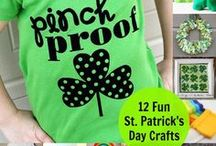 St. Patrick's Day Fun! / Fun crafts, recipes and ideas to celebrate St Paddy's Day! / by TestingMom.Com