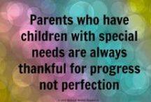 Special Needs and Learning Challenges / Every child is special. Every child has special needs. Every child sees the wold in an entirely unique way-Love the uniqueness in your child / by TestingMom.Com