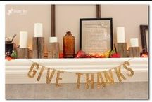 Thanksgiving / by The Gunny Sack