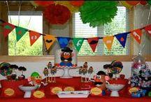 Mr. Potato Head Party / by Jamie Grizzle