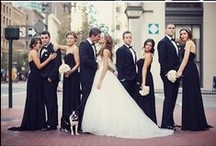 Black and White Wedding / No shades of grey here - black and white jewelry, headpieces, and accessories  for your elegant wedding!  Visit us anytime at www.affordableelegancebridal.com for elegant, affordable accessories! / by Affordable Elegance Bridal