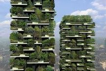 Architecture: GREEN / by Francois Morrow