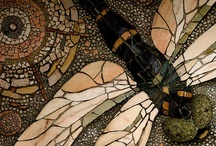 Mosaic /  A deep-felt thank-you to the posters/bloggers/artists who have supplied this GREAT WEALTH of reference and inspiration.   / by Dedra Johnson