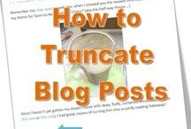 Blogging & Social Media / Blogging ideas & inspiration #blogging #blog #grow your blog #link party #how to blog #start a blog / by Tanya {twelveOeight}