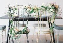 Flowers - Chairs / by Brancoprata