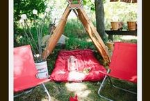 camping theme / by Schoolgirl Style www.schoolgirlstyle.com