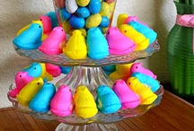 Peeps & Easter #PeepsFan / Peeps and Easter go hand in hand! A fluffy bit of sugary goodness! They are for more than just eating! board is sponsored by PEEPS AND COMPANY® #PeepFan / by Brassy Apple