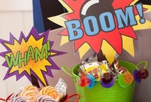 Superhero / Parties, photo booths, quotes, decor ideas and more all SUPERHERO themed! It's a bird....it's a plane...it's a SUPERHERO!  / by Brassy Apple