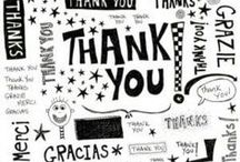 THANK YOU! / A simple Thank You goes a long way / by Alice Rob