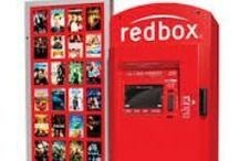 REDBOX / Movies. Codes(free rentals when available) / by Alice Rob
