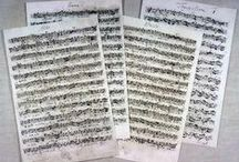 J.S. Bach Manuscripts / by Baroquenoise