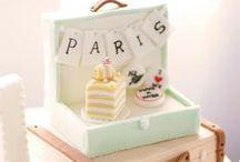 Cakes & Cupcakes & Cookies / cakes, cupcakes, decoration ideas, fondant, gum paste, sugar paste tutorials / by Elma