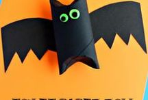 HALLOWEEN FUN / Halloween fun! Halloween crafts for toddlers, preschool and kindergarten. Teacher activities for Halloween that are perfect for homeschool or classroom. / by Kiboomu Kids Songs