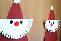 CHRISTMAS FUN / Christmas Fun! Christmas crafts and activities for toddlers, preschool and kindergarten children. Perfect for a Christmas theme at home or in the classroom! / by Kiboomu Kids Songs