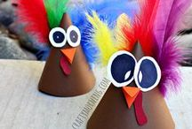 THANKSGIVING FUN / Thanksgiving fun! Thanksgiving crafts for toddlers, preschool and kindergarten. Great teacher activities for the Thanksgiving holiday. Thanksgiving theme is perfect for homeschool or classroom. / by Kiboomu Kids Songs