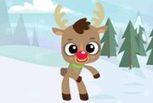 CHRISTMAS SONGS FOR KIDS / Loads of Christmas songs and carols for toddlers, preschool and kindergarten children. Perfect for Christmas lesson plans at home or in the classroom! / by Kiboomu Kids Songs