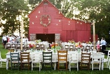 Barns and weddings / by Carrie Rowell
