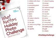 {what matters holiday photo challenge} / by Pure Matters
