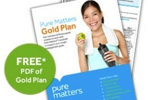 {lose weight + get fit: fucogold gold plan} / by Pure Matters
