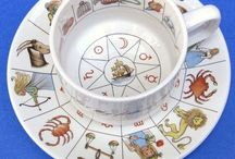 Astrology / While divination is explicitly forbidden by the three religions of the Book (Christianity, Judaism, and Islam), astrology was quietly practiced for centuries under these same religions.  Most astrology practiced in the West today does not attempt to predict specific futures, but offers instead a range of possibilities that are more likely to occur under particular sky configurations. / by Monica Miller