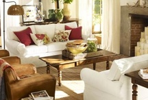 To Live In / Inspired decorating for a comfortable, cozy, and classy living space. / by Amy Quinn