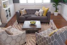 Upper level Family room inspiration / by Melissa Fox