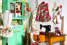 craft room / by Stacey Carroll