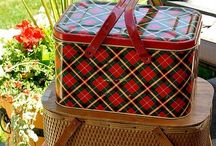 Vintage picnic baskets / by Stacey Carroll