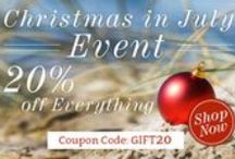 Christmas in July / by Ornaments and More