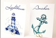 Nautical Wedding Ideas / Seaside, Tropical, Ocean, Boat, Yacht, Destination Weddings and more! / by Bellus Designs