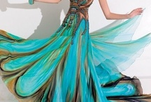 Peacock Feather, Jewel Tone Wedding Ideas / by Bellus Designs