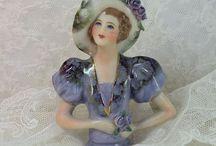 Collectible  Half/Dolls / Small 1/2 of a doll....make pincushions / by Jan McDonald