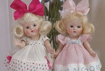 Vogue and Ginny dolls / Dolls made by Vogue / by Jan McDonald