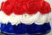 Holiday - Red, White & Blue / Crafts, treats and decorations for all of our patriotic holidays - Memorial Day, 4th of July, Labor Day, and Veteran's Day! All things America. / by Laura Silva {Laura's Crafty Life}